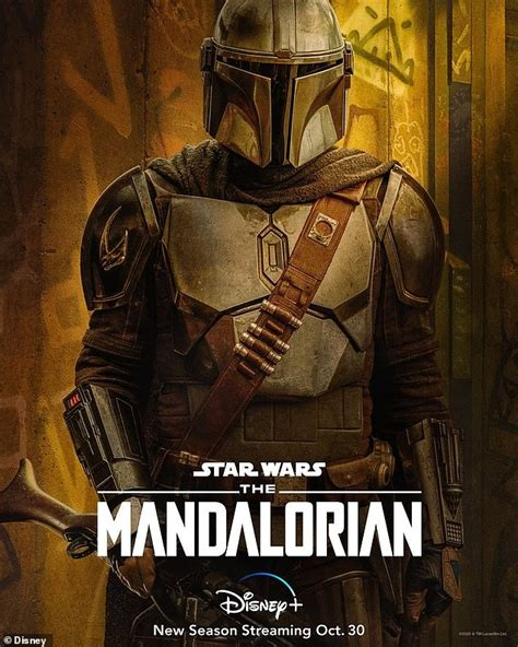The Mandalorian shares character posters