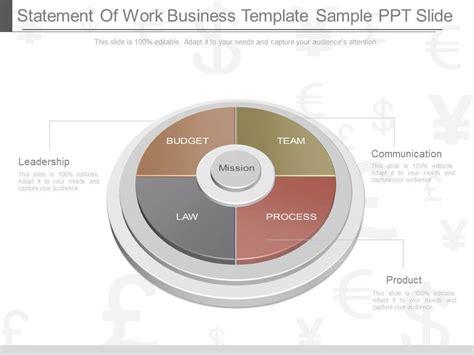 apt statement  work business template sample