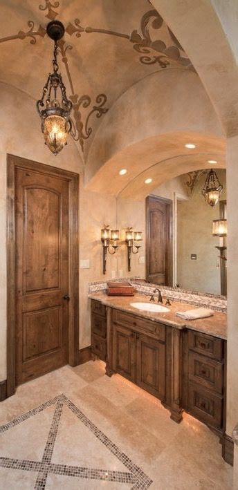 tuscan bathroom decor ideas  pinterest