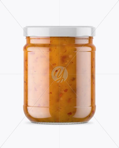 4689×3135 px minimum photoshop version: Download Clear Glass Jar With Sweet Sour Sauce Mockup ...