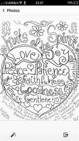 Coloring Pages Spirit Fruit Meditation Megan sketch template