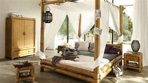 chambre bambou le lit en bambou authenticité et touche