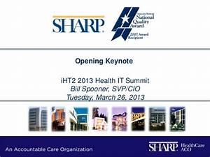 iHT2 Health IT ... Sharp Healthcare