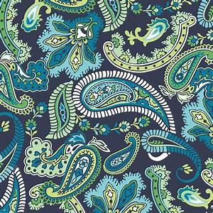 Paisley Please Blox Blue Green