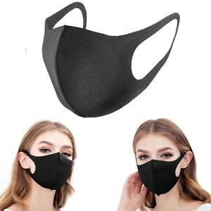 pcs washable earloop mask cycling anti dust mouth face