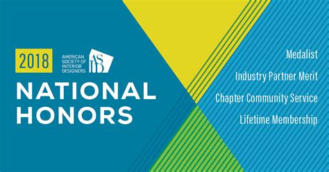 Asid Announces 2018 National Honors Recipients