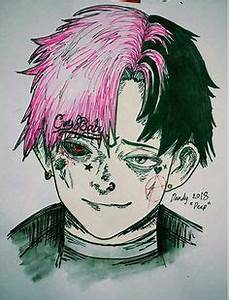Lil Peep Art - addict with a pen - Pinterest Peeps