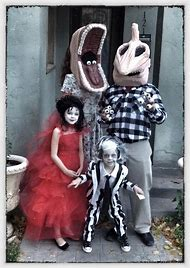 Beetlejuice Family Halloween Costume