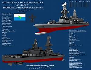 Sparrow Class Guided Missile Destroyer by Stealthflanker ...