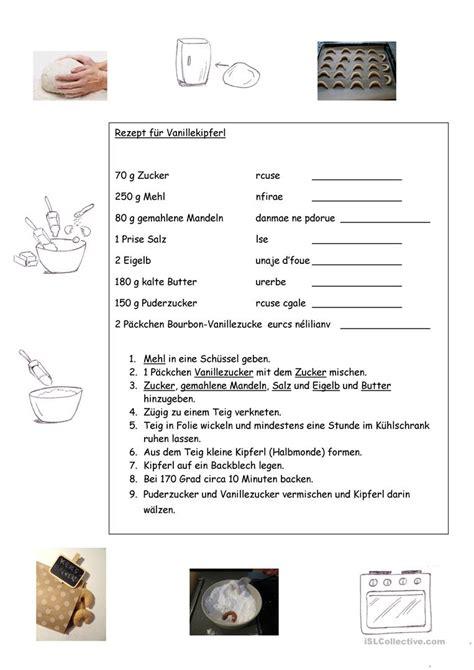 weihnachtenplaetzchenrezept arbeitsblatt kostenlose daf