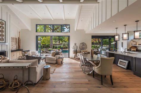 napa style kitchen island breathtaking modern farmhouse style retreat in napa valley 3423