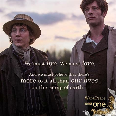 peace war quotes bbc tv tolstoy gritty characters leo series shows comet