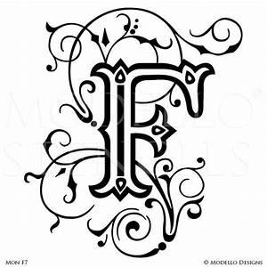 monogram stencils modellor designs With monogram letter stencils free
