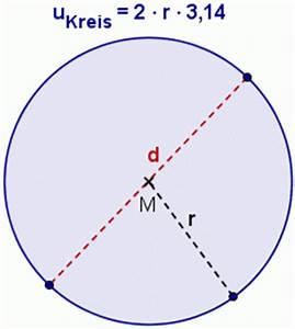 Radius Mit Umfang Berechnen : formel zum umfang des kreises anwenden kreis mathematik realschule klasse 7 ~ Themetempest.com Abrechnung