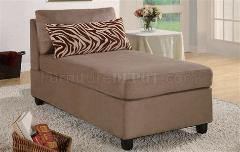 children s play furniture saddle microfiber plush contemporary chaise lounger 11115