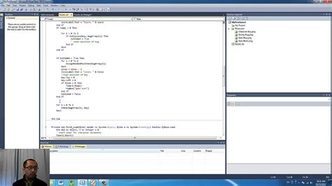 Games Programming With Visual Basic Lesson 6  Multiple Enemies Using Picturebox Arrays Youtube