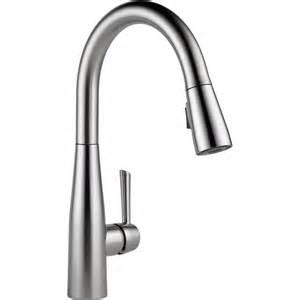 delta faucet 9113 ar dst essa arctic stainless pullout