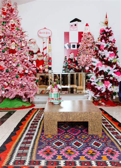 beautiful themed christmas trees  paint  blog