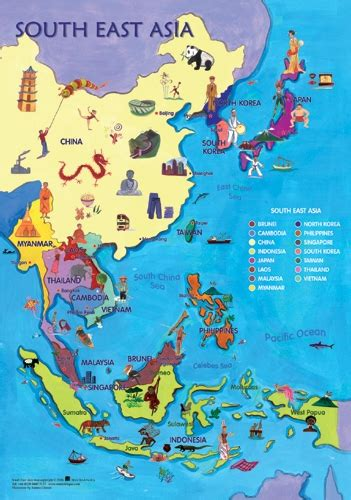 map  southeast asia world maps