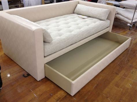 daybed that looks like a sofa trundle bed sofa porter m2m divan into a custom sized