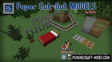 paper cut   models add  resource pack  minecraft