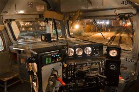 Inside the locomotive — Amtrak: History of America's Railroad
