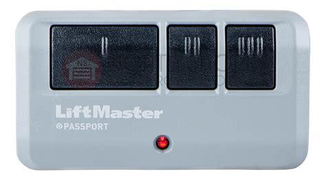 liftmaster ppv3 passport 3 button remote control