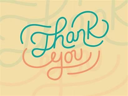 Thank Dribbble Thankyou Hello Hand Katrina Pacheco