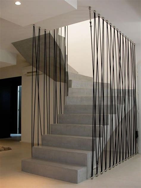 Moderne Treppengeländer Innen by Moderne Treppengel 228 Nder Fallschutz Aus Seilen