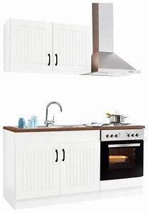 Küchenzeile 160 Cm : k chenzeile held m bel athen breite 160 cm otto ~ Markanthonyermac.com Haus und Dekorationen