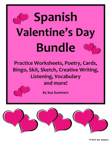 spanish valentine s day smartboard games activities by