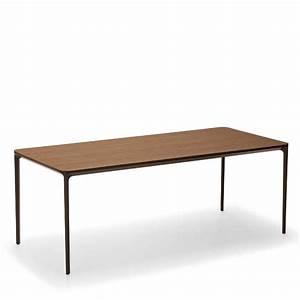 Table Bois Metal Extensible : table design extensible en bois slim sovet 4 ~ Teatrodelosmanantiales.com Idées de Décoration
