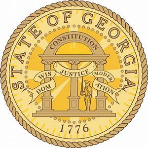The gallery for --> Georgia State Seal