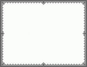 Black Certificate Border Vector | mathmarkstrainones.com
