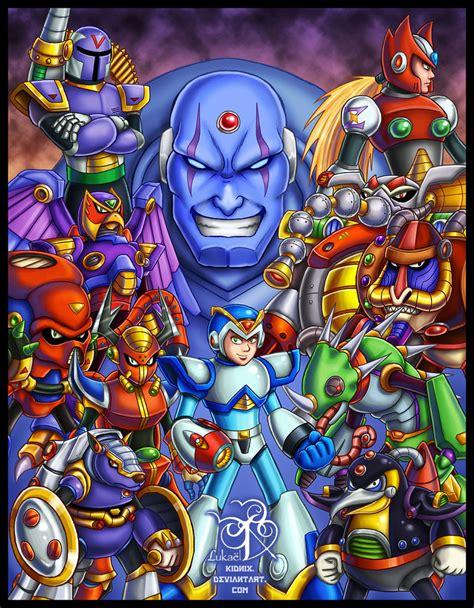 Megaman X Tribute By Lukael Art On Deviantart