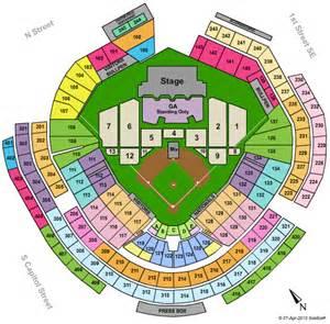 Washington Nationals Park Seating Chart