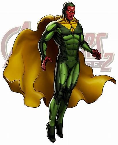 Vision Marvel Clipart Avengers Alliance Wikia Wiki