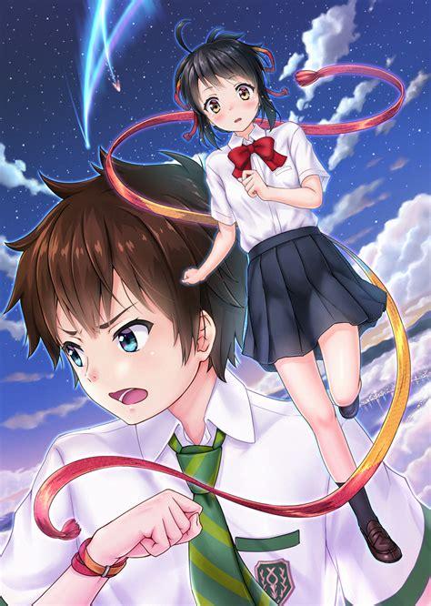 download anime kimi no nawa sub indo meownime your name art id 91951 art abyss