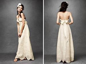 Casual vintage summer outdoor wedding dress sang maestro for Casual vintage wedding dresses