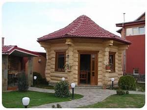 maisons bois en rondins fustes bruts et madriers contrecolles With maison rondin de bois prix