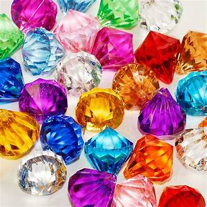 Assorted Pirate Gems Diamonds Jewels Party Favor