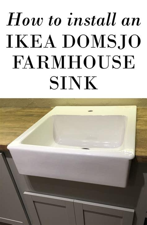 how to install ikea kitchen sink farmhouse sink ikea cabinet nazarm 8687