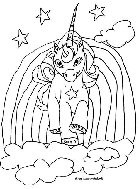 sta e colora unicorno disegno da colorare unicorno disegni mammafelice