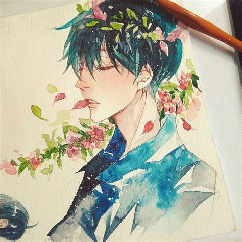 watercolor anime 9129 best drawing drawing drawing painting images on