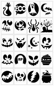 Halloween Kürbis Schablone : die besten 25 k rbisgesicht vorlagen ideen auf pinterest ~ Lizthompson.info Haus und Dekorationen
