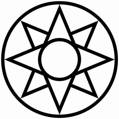 Symbol Star Svg Ishtar Simplified Symbols Sign