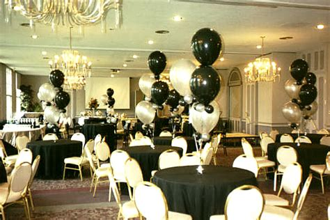 black and white party table centerpieces wedding themes wedding style black and white wedding