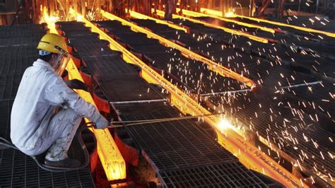 chinas steel industry burdened  overcapacity workers