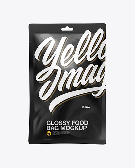 Simple edit with smart layers. Glossy Food Bag Mockup PSD Template - Download Free Glossy ...