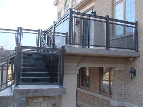 aluminum stair railings  toronto  gta